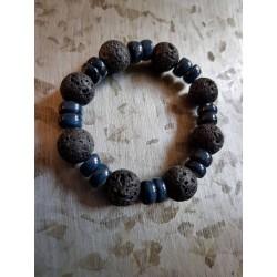 BRACELET BLUE BLACK